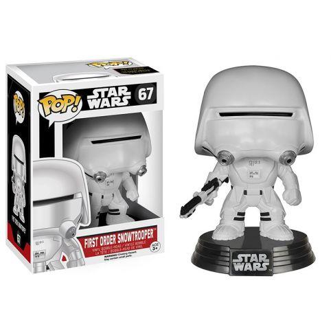 Funko Pop! - Star Wars: 67 First Order SnowTrooper Bobble-Head