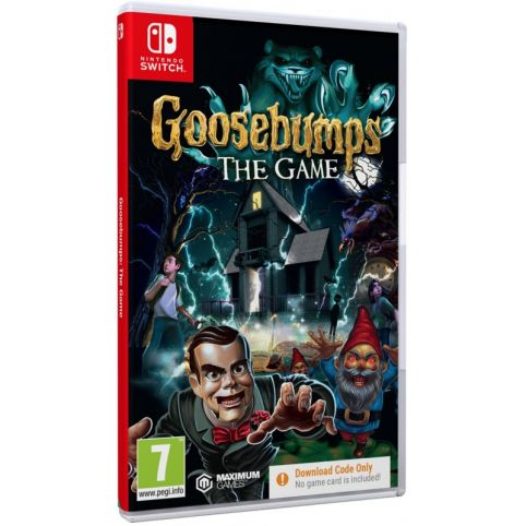Goosebumps [Code In A Box] (Switch)