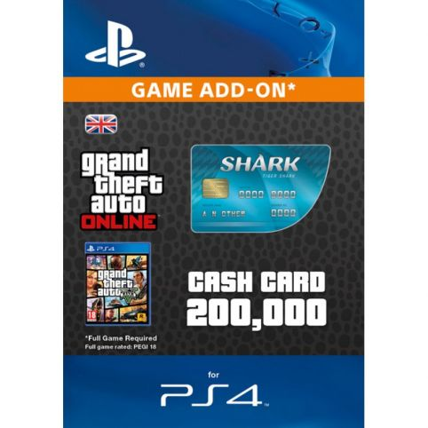 GTA V - Tiger Shark Cash Card - Digital Code