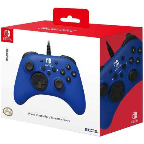 HORIPAD Wired Controller - Blue (Switch)