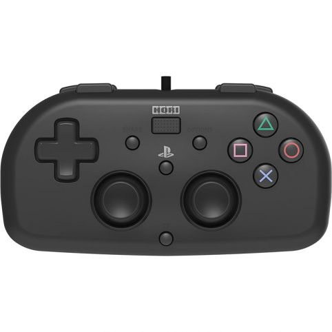 Horipad Wired Mini PlayStation 4 Controller Officially Licensed - Black