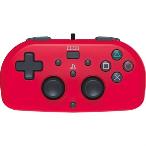 Horipad Wired Mini PlayStation 4 Controller Officially Licensed - Red