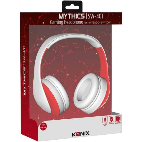 Konix Micro Stereo Headset For Switch Gaming With Mic