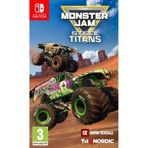 Monster Jam Steel Titans (Switch)
