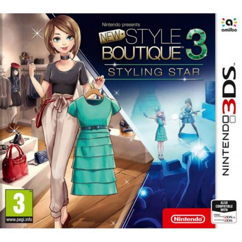 New Style Boutique 3 - Styling Star (3DS)
