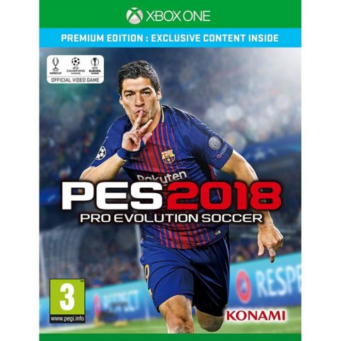 PES 2018 - Premium Edition (Xbox One)