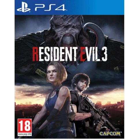 Resident Evil 3 with Lenticular Sleeve (PS4)