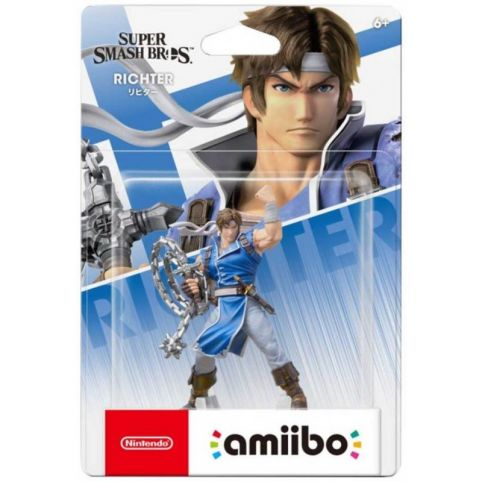 Richter Belmont Amiibo - Super Smash Bros Collection No 82 (Amiibo)
