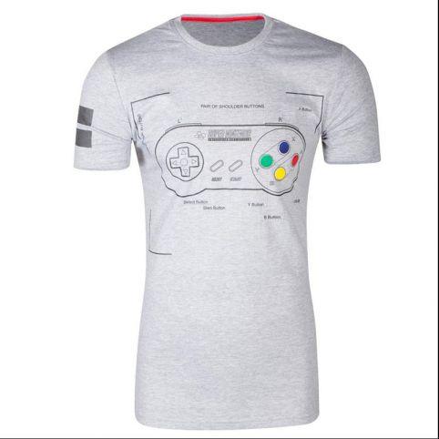 SNES Controller Super Power T-Shirt - Medium