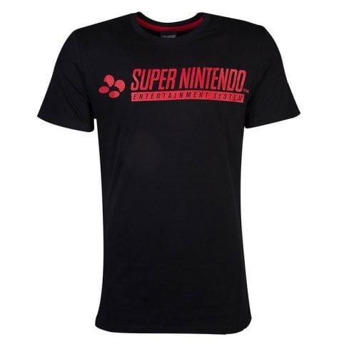 SNES Logo T-Shirt - Extra Large