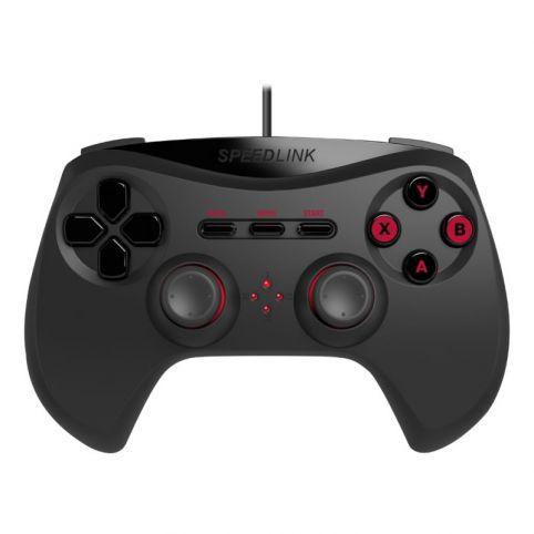 SPEEDLINK Strike NX USB Gamepad for PC (Black)