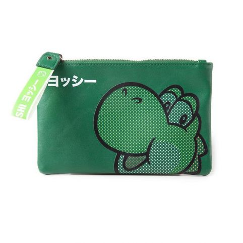 Super Mario Bros. Rubber Yoshi Face Coin Purse Wallet