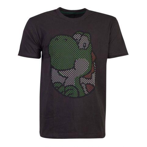 Super Mario Bros. Yoshi Rubber Print T-Shirt - Extra Large