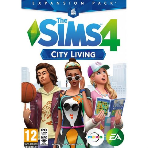 The Sims 4 Expansion Pack 3 - City Living (PC)