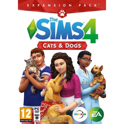 The Sims 4: Cats & Dogs Expansion Pack 4 (PC)
