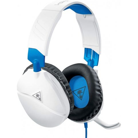 Turtle Beach Recon 70P White Gaming Headset for PS4, Xbox One, Nintendo Switch, & PC
