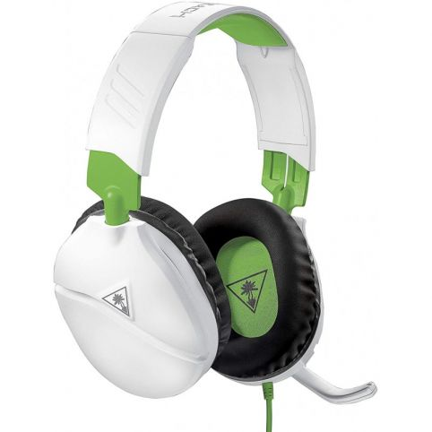 Turtle Beach Recon 70X White Gaming Headset - Xbox One, PS4, Nintendo Switch, & PC