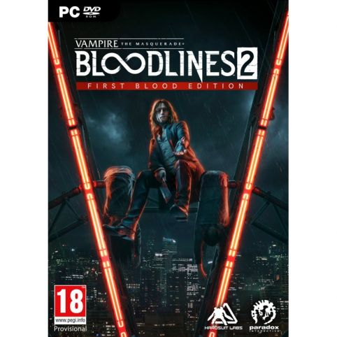 Vampire: The Masquerade - Bloodlines 2 First Blood Edition (PC)
