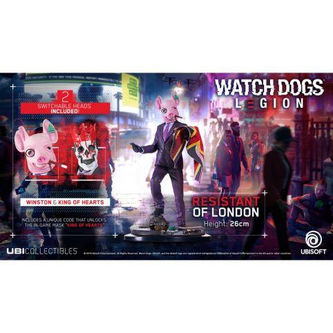 Watch Dogs Legion Figure - Winston & King of Hearts
