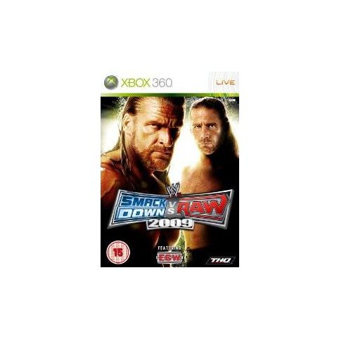 WWE Smackdown Vs Raw 2009 (Xbox 360)