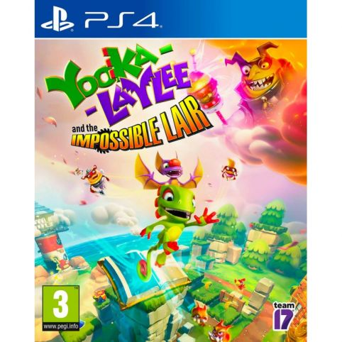 Yooka Laylee and the Impossible Lair (PS4)