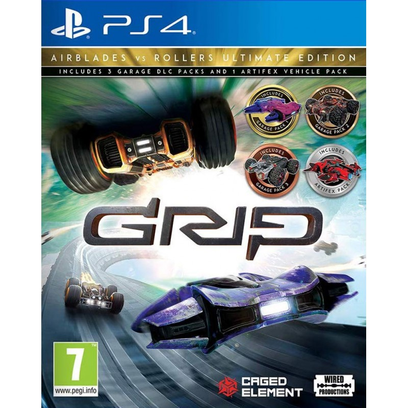 Grip Combat Racing: Rollers Vs Airblades - Ultimate Edition (PS4)