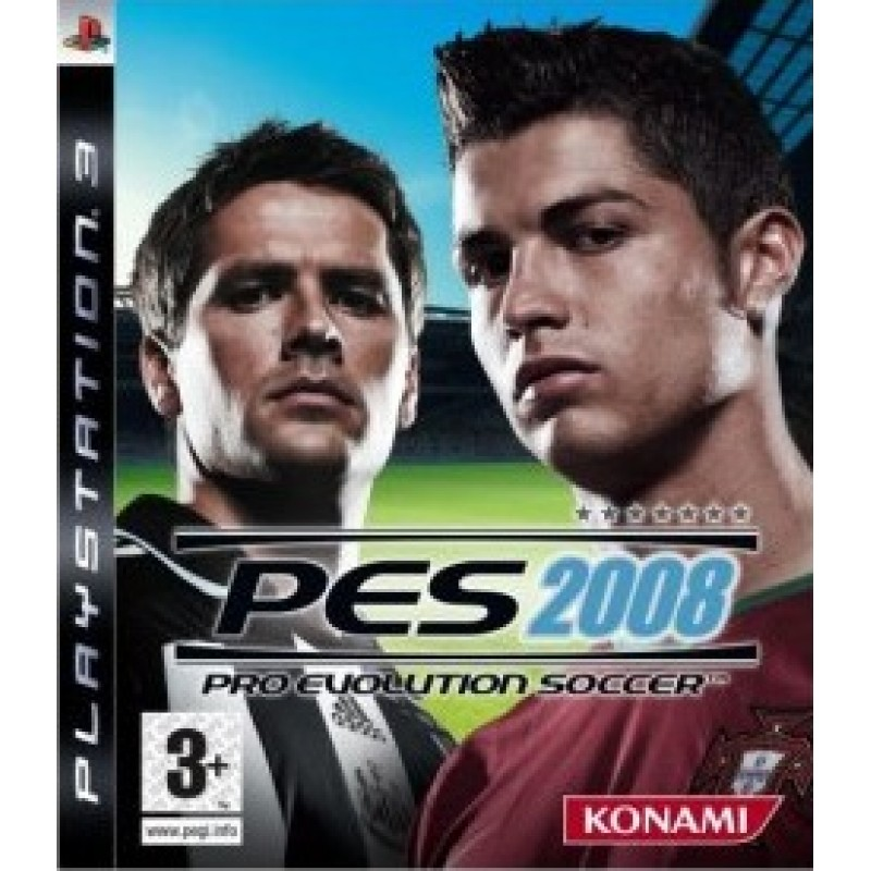 Pro Evolution Soccer 2008 (PS3) Preowned