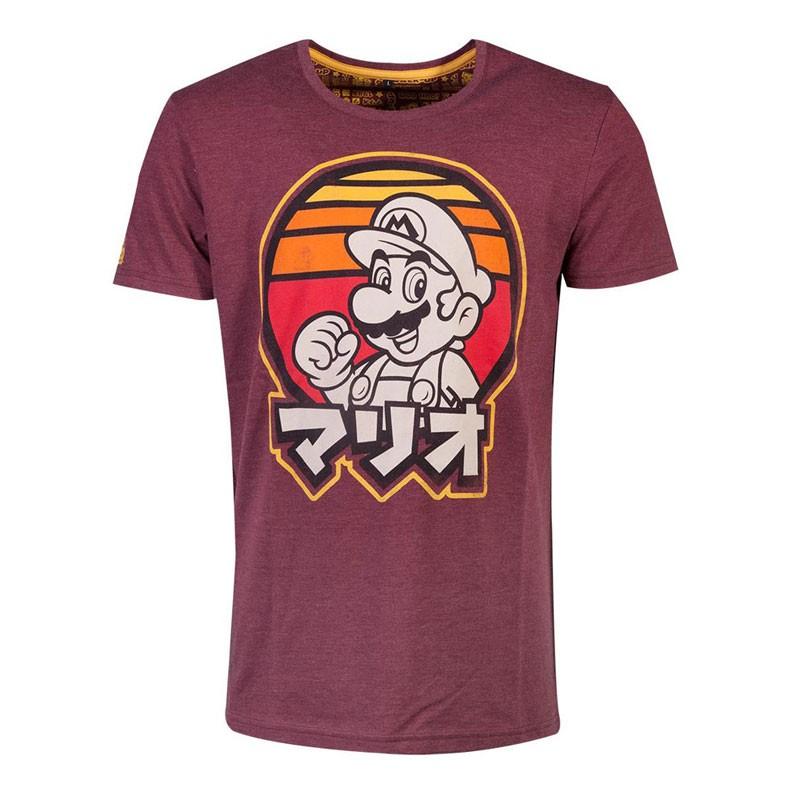 Super Mario Bros. Retro Mario T-Shirt - Small