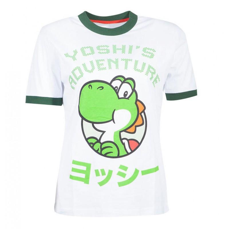 Super Mario Bros. Yoshi Adventure T-Shirt - Extra Extra Large