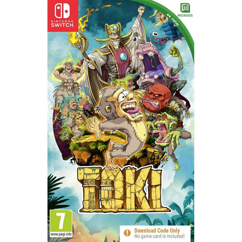Toki [Code In A Box] (Switch)