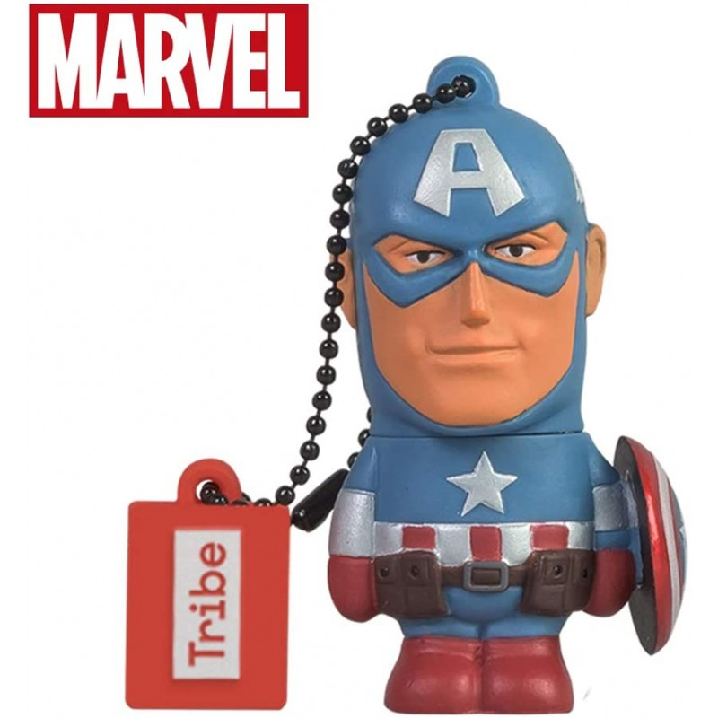 Tribe Captain America 32GB Original Marvel Flash Drive 2.0