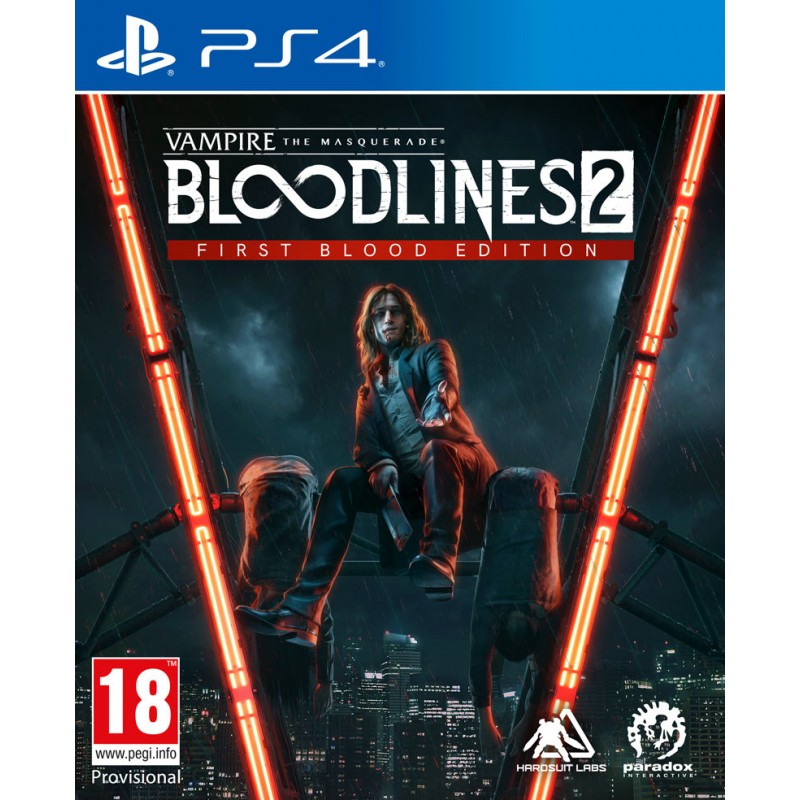 Vampire: The Masquerade - Bloodlines 2 First Blood Edition (PS4)