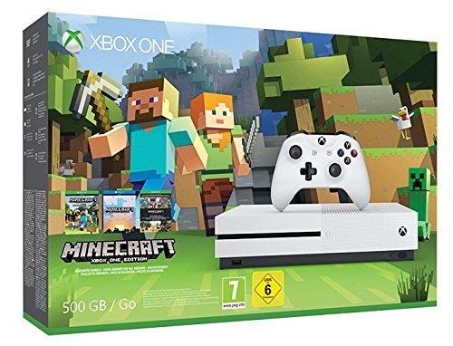 Xbox One S Minecraft Console BundleXbox One