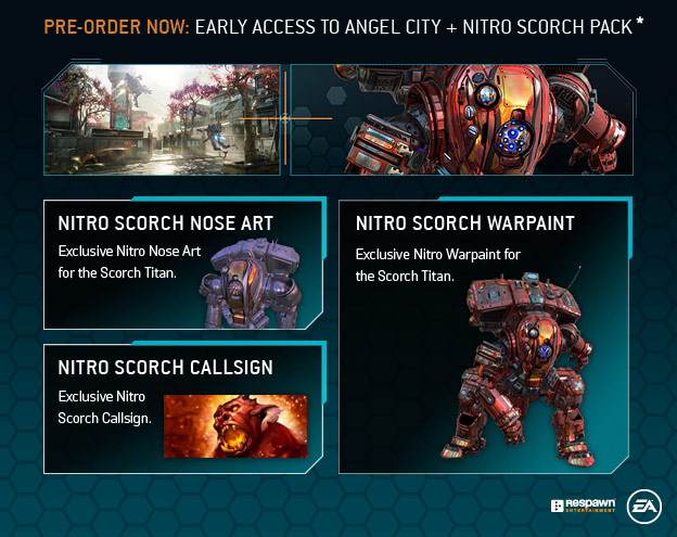 Titanfall 2 - Early Access to Angel City + Nitro Scorch Pack
