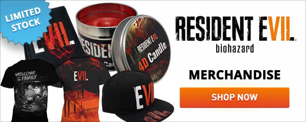 Resident Evil 7 Biohazard Merchandise
