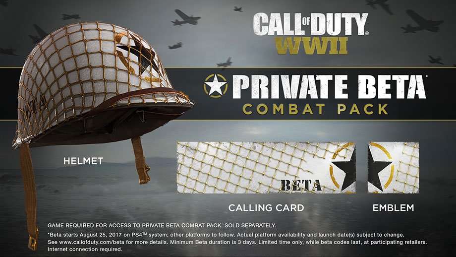 Call of Duty: WWII - Private BETA Combat Pack
