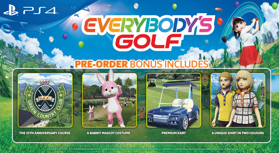 Everybody's Golf Pre-order Bonus