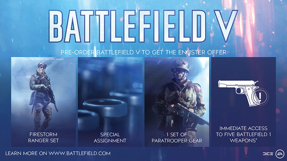 Battlefield V - Preorder Now