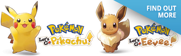Pokemon Let's Go: Pikachu & Eevee