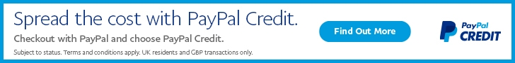 Spread the code with PayPal Credit - Find out more...