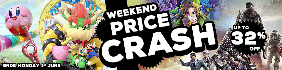 Weekend Price Crash - up to 32% off