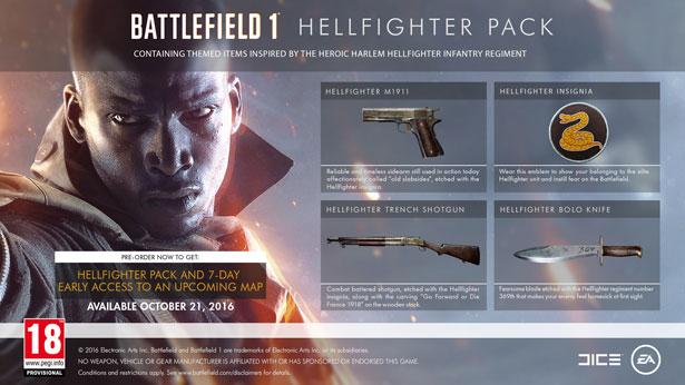 Pre-order bonus: Hellfighter Pack