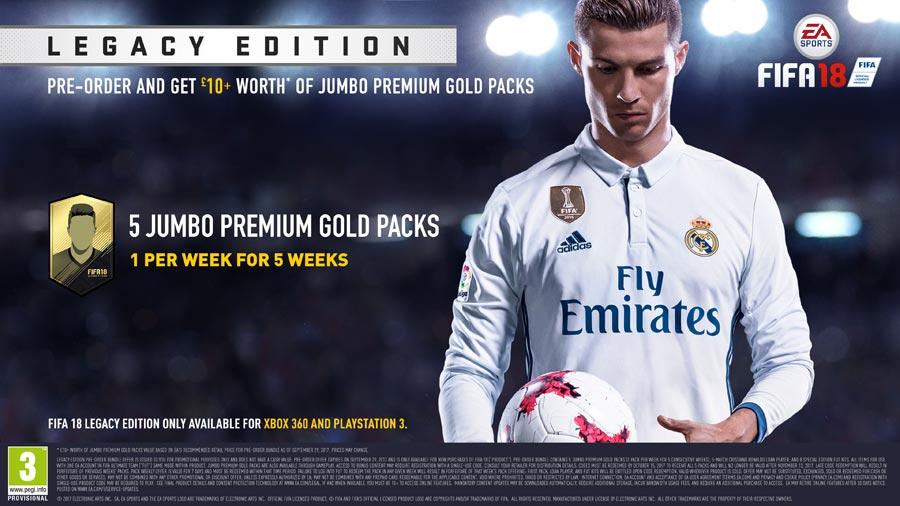 FIFA 18 - Legacy Edition Pre-order Bonus