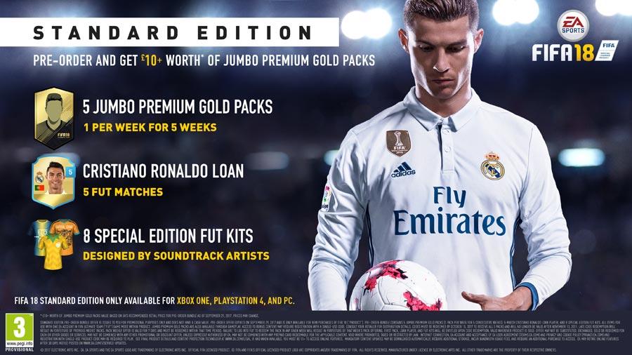 FIFA 18 - Standard Edition Pre-order Bonus