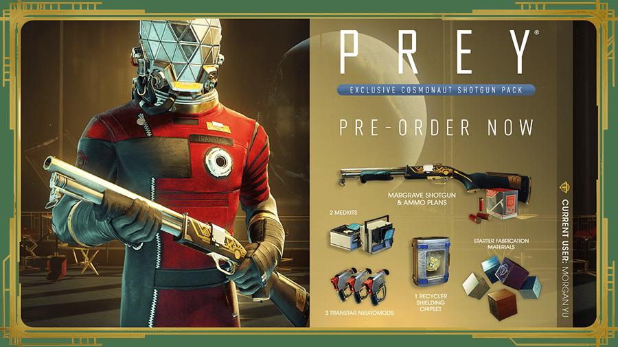 Prey Pre-order Bonus