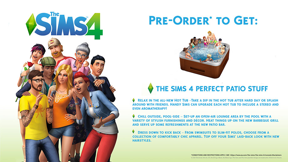 The Sims 4 - Pre-order bonus
