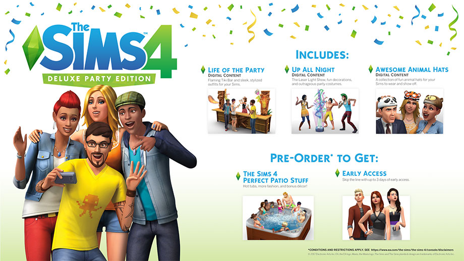 The Sims 4 - Deluxe Party Edition - Pre-order bonus