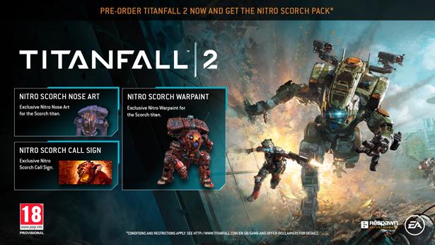 Titanfall 2 - Nitro Scorch Pack