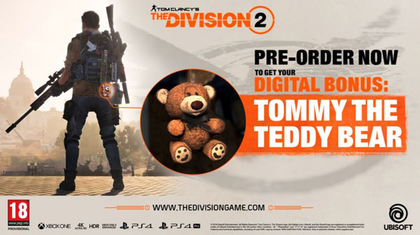 Tom Clancy's The Division 2 - Tommy the Teddy Bear