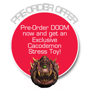 Doom pre-order bonus - Cocademon Stress Toy